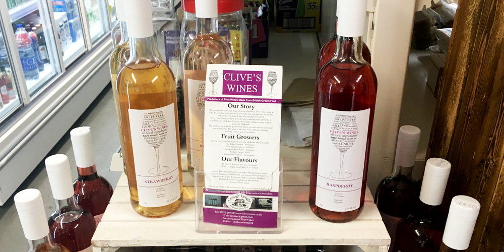 Clive's Wines stockist