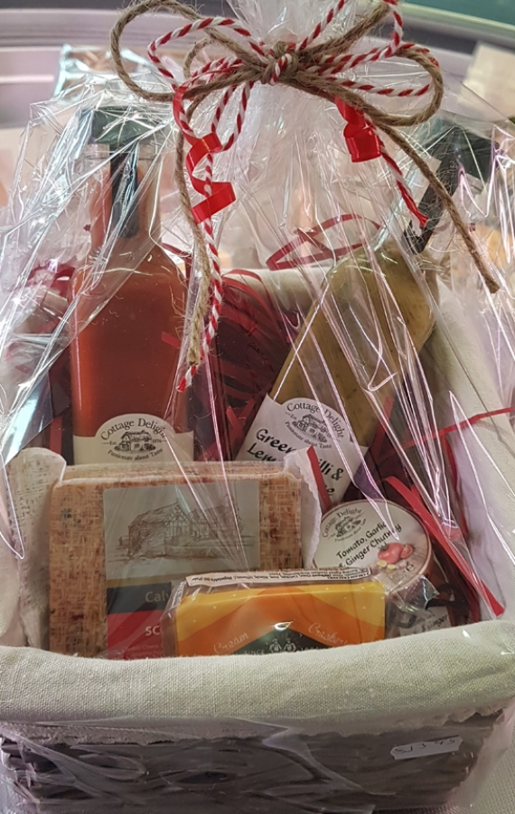 Calveley Mill launches Christmas hampers