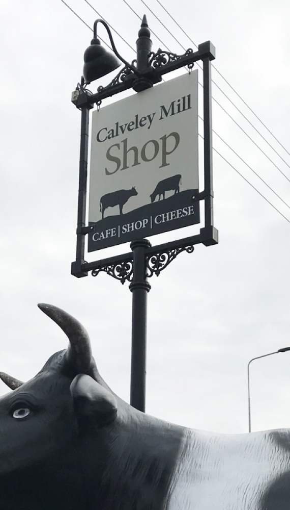 Our on-site cheese shop and café in the heart of Cheshire